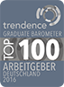 Germany's TOP 100 Employers (Graduate Barometer)