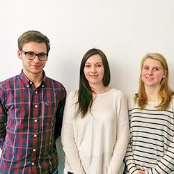 Moritz Zoia, Alina Reimchen & Isabelle Cloos